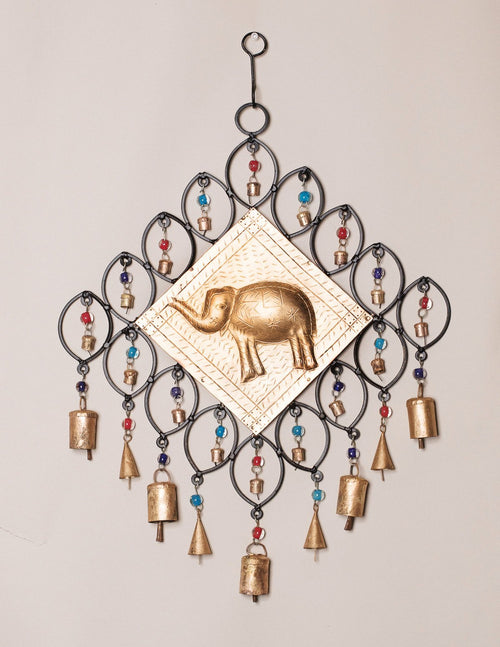 Beads and Bells Elephant Bell Chime