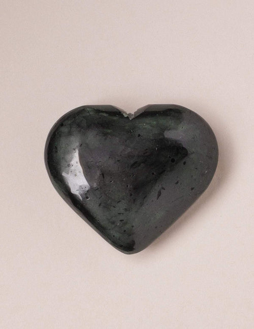 Black Tourmaline Healing Heart