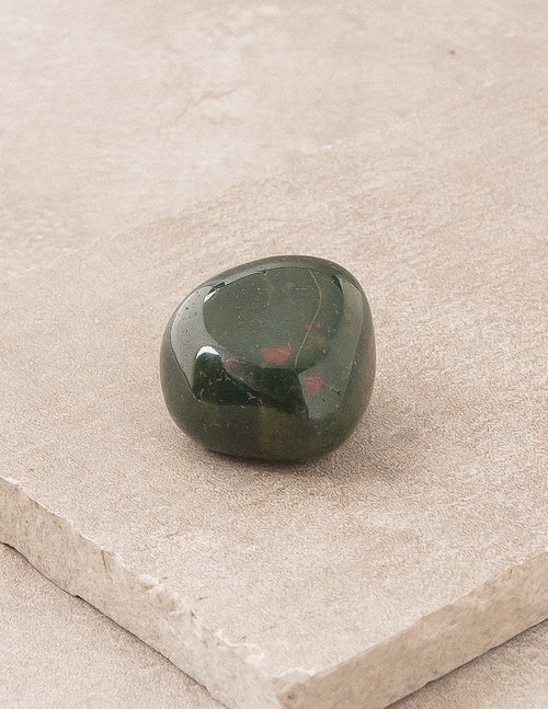 Bloodstone Pocket Stones - Set of 3