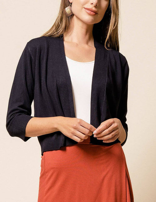 Bolero Crop Sweater