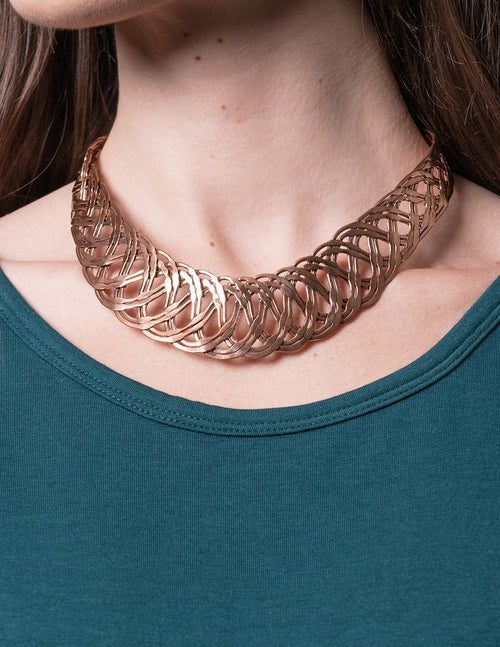Braided Copper Necklace