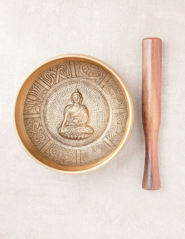 Buddha Singing Bowl - 4 inch and 5 inch