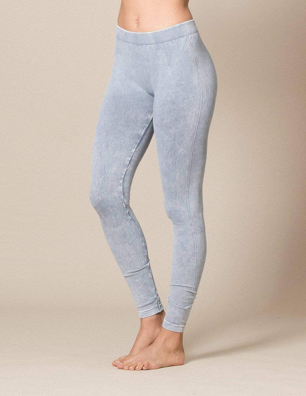 Control Fit Vintage Leggings - Light Denim - As Is Clearance