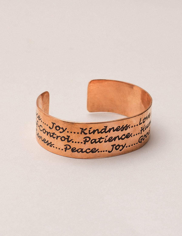 Copper Inspiration Cuff