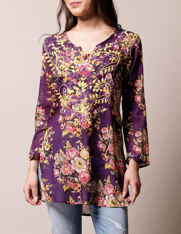 Divinity Rose Tunic - Plum