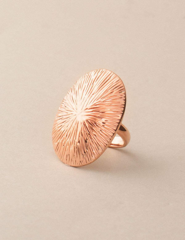 Etched Copper Ring