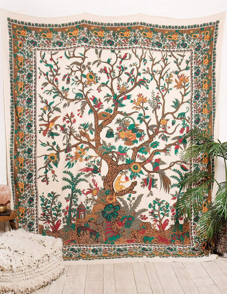 Eternal Tree Of Life Tapestry