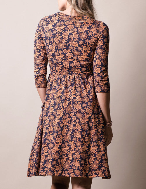 Fair Trade Aubrey Dress - Spice