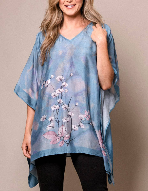 Fair Trade Cherry Blossom Tunic