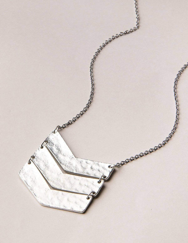 Fair Trade Chevron Necklace