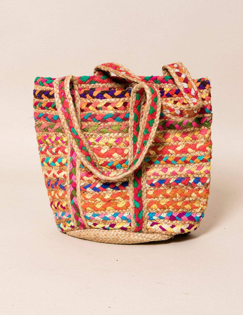 Fair Trade Chindi Tote