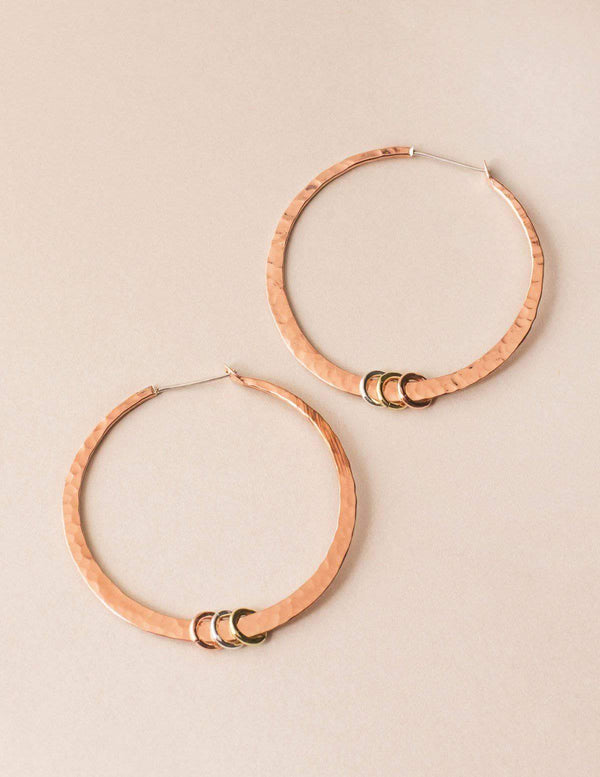 Fair Trade Copper Earrings