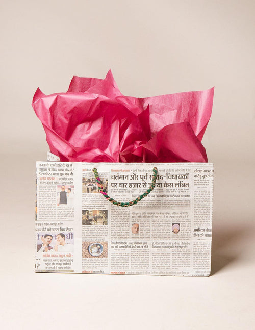 Fair Trade Eco Newsy Gift Bags