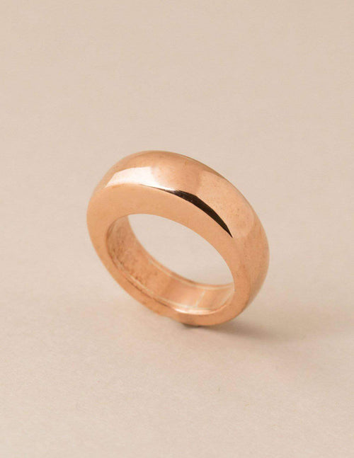 Fair Trade Copper Eternity Ring
