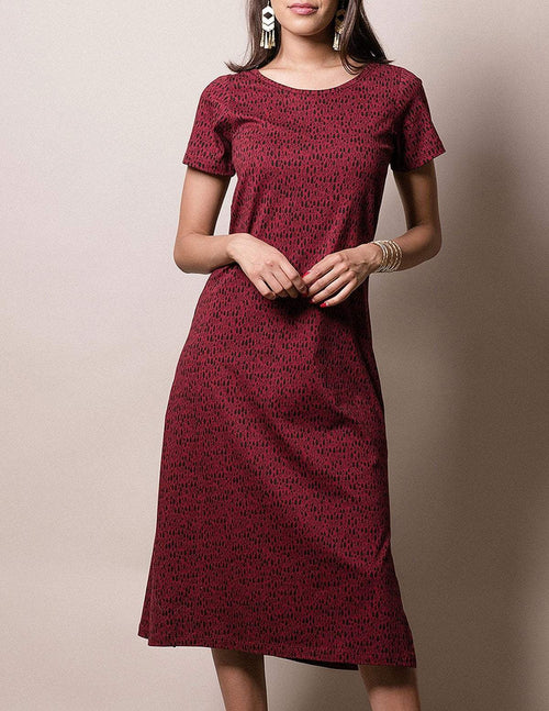 Fair Trade Evelyn Midi Dress