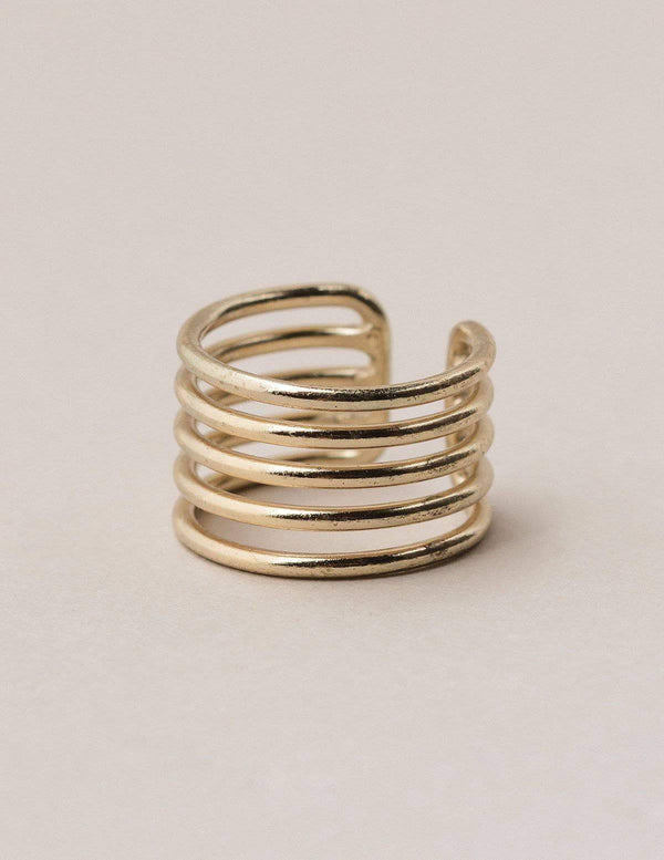 Fair Trade Five Coil Ring