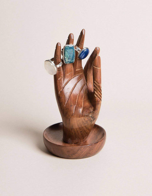 Fair Trade Gyan Mudra Jewelry Holder