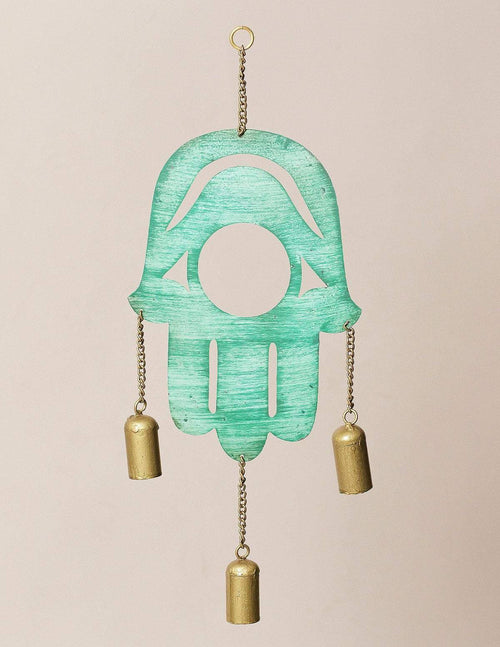 Fair Trade Hamsa Chime