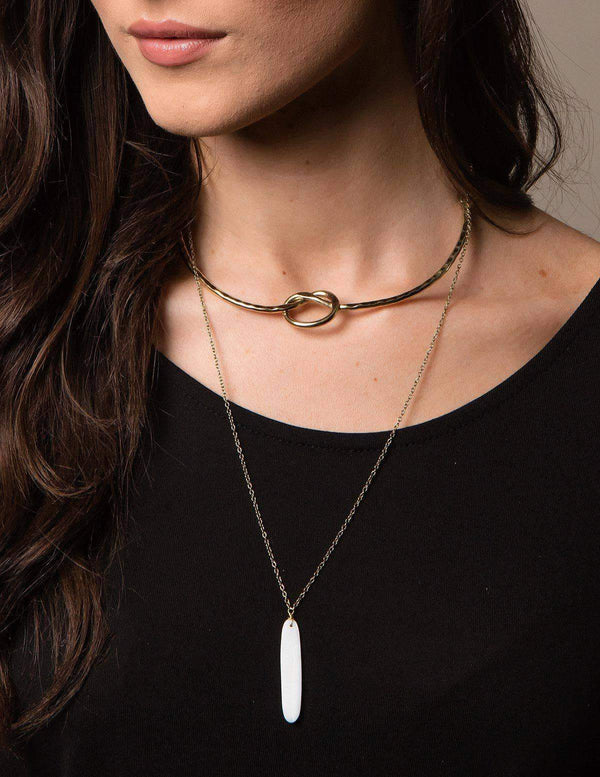 Fair Trade Mother of Pearl Choker Necklace
