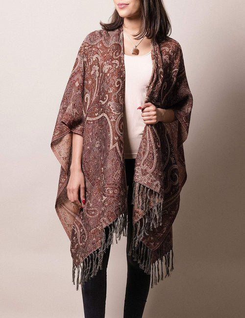Fair Trade Rajasthani Wrap - Russet