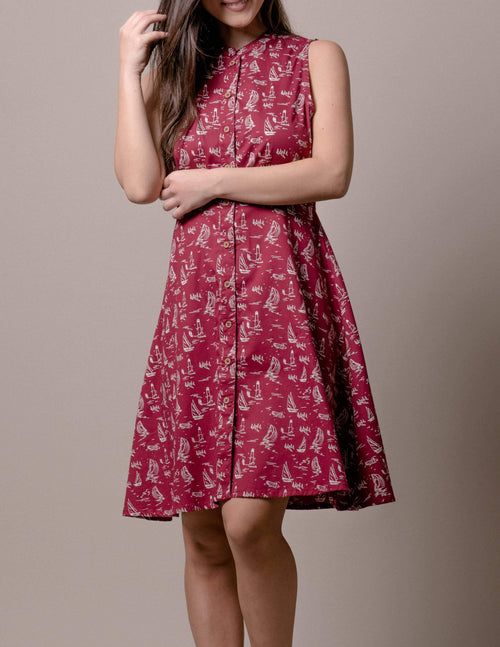 Fair Trade Scarlet Dress