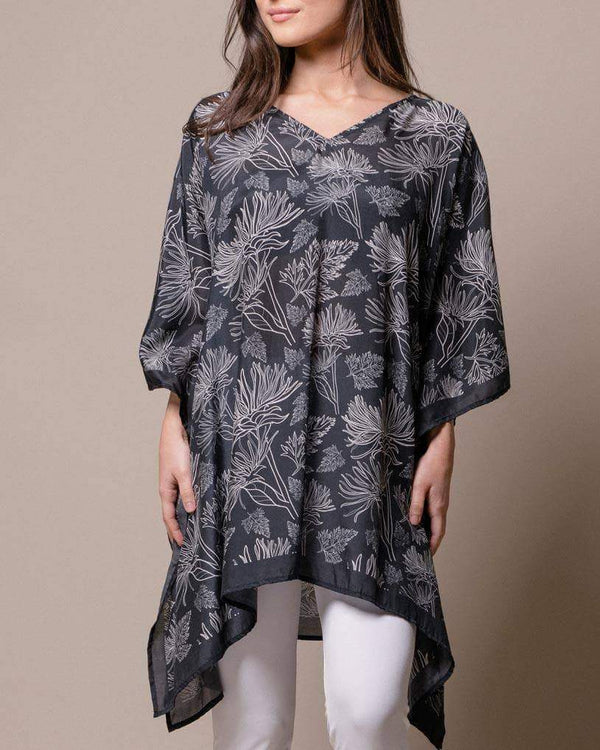 Fair Trade Silver Leaves Tunic