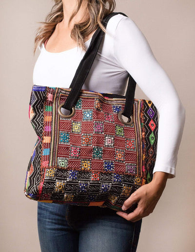 Fair Trade Tribal Tote Bag