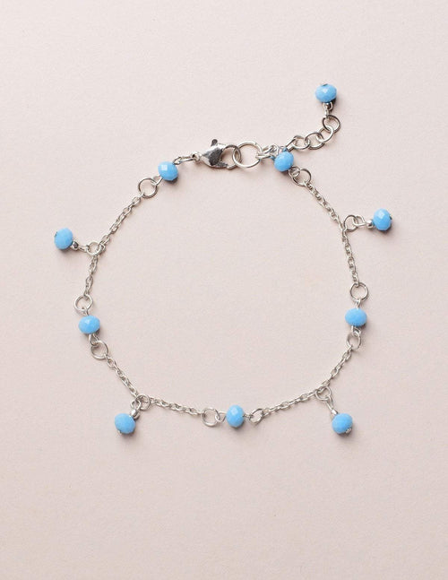 Fair Trade Turquoise Amala Anklet