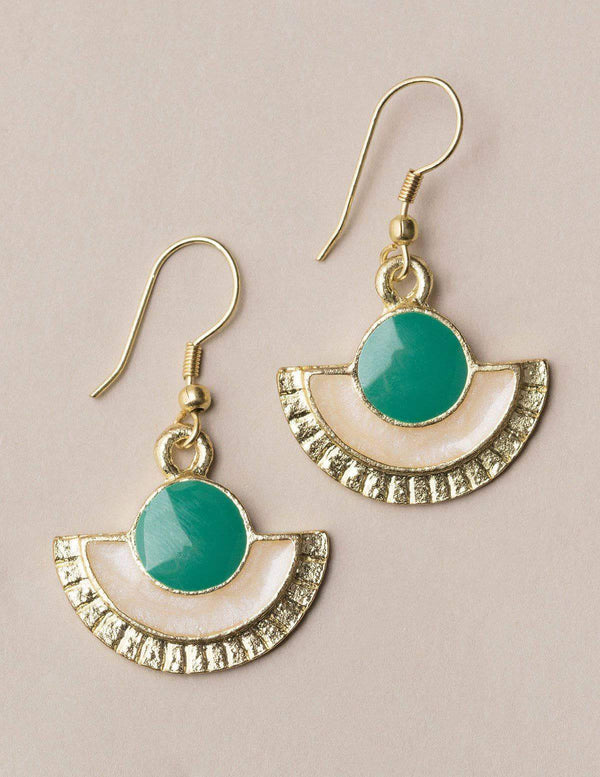 Fair Trade Turquoise Earrings