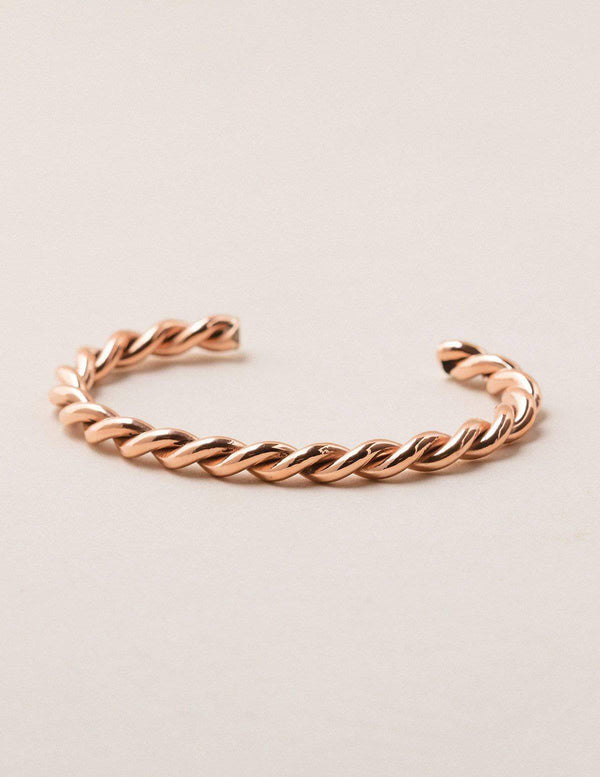 Fair Trade Twisted Copper Cuff