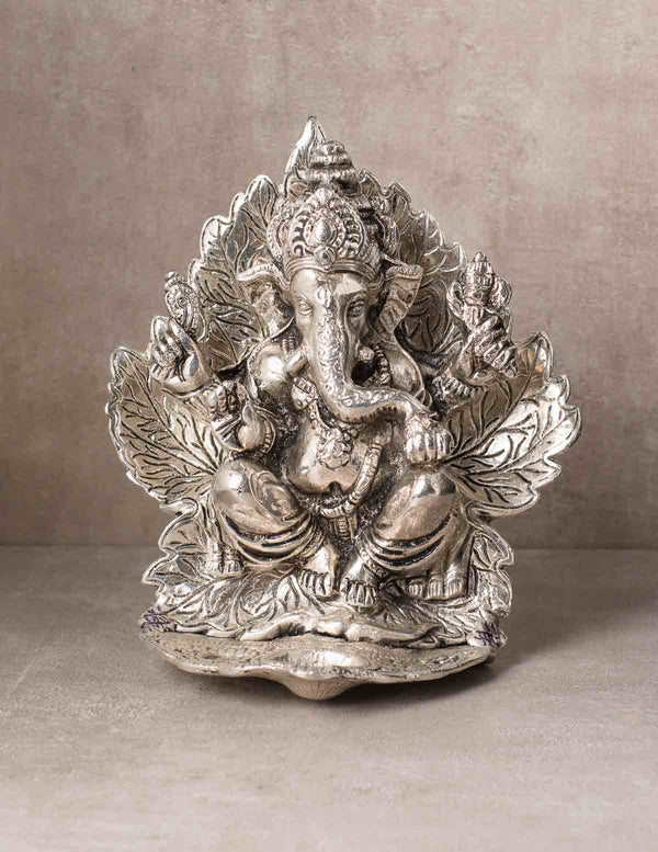 Ganesha Lotus Incense Burner