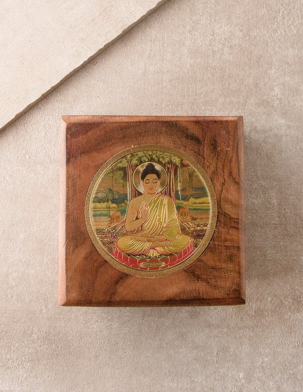 Golden Buddha Keepsake Box