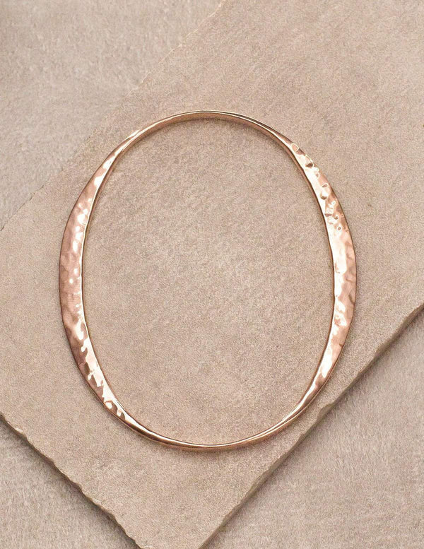Hand Hammered Copper Bangle