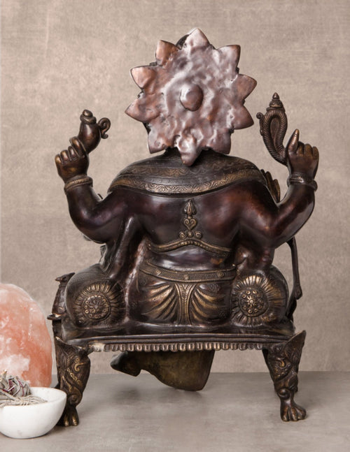 Large Seated Ganesh Statue