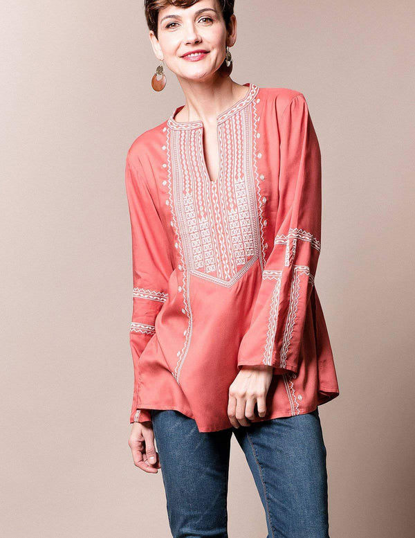Marrakesh Tunic - Dusty Coral