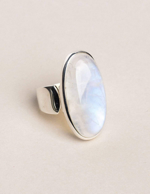 Moonstone Ring - Adjustable