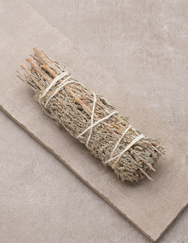 Mountain Sage, White Sage & Lavender Smudge