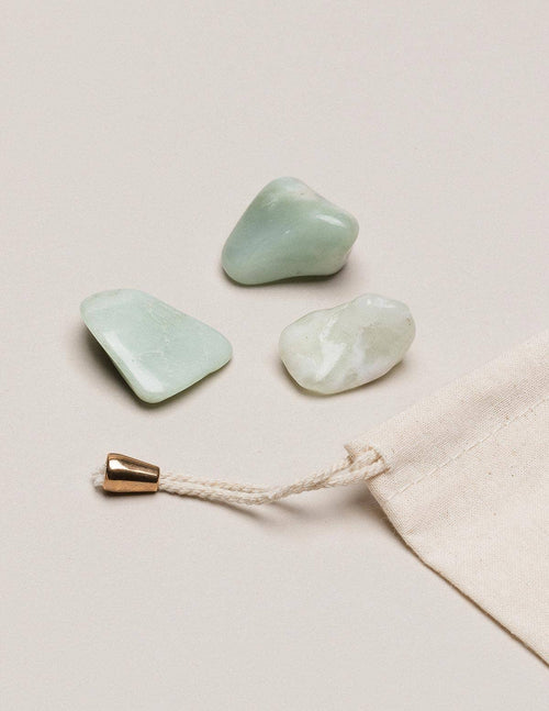 New Jade Pocket Stones - Set of 3
