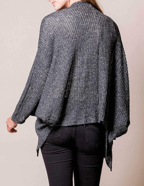 Open Weave Sweater Wrap