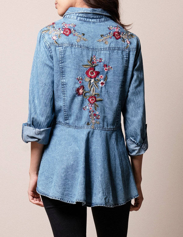 Paola Denim Shirt