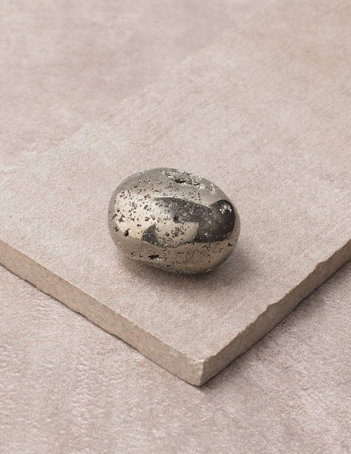 Pyrite Pocket Stone