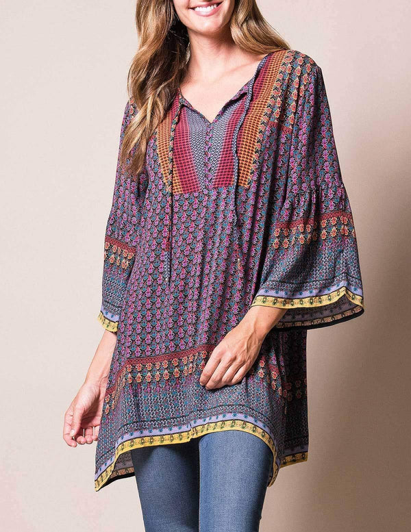 Rishikesh Tunic Dress - As Is Clearance - Medium Only