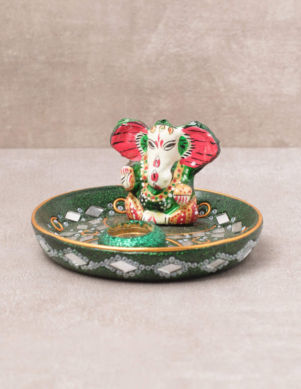 Sacred Ganesh Incense Burner