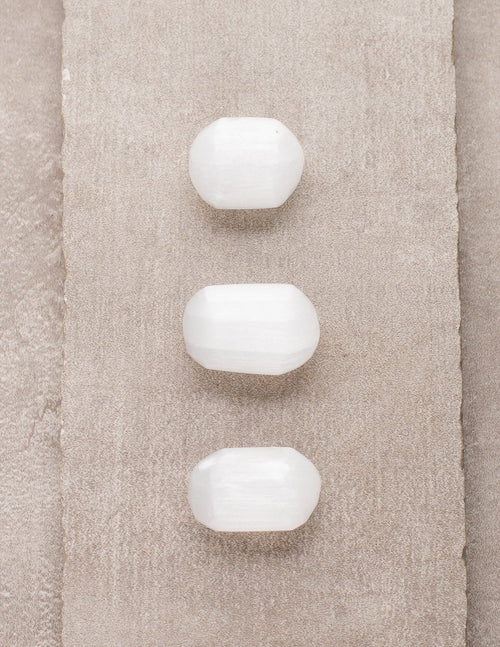 Selenite Pocket Stones - Set of 3