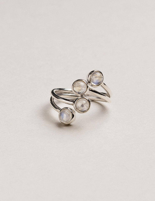 Serendipity Moonstone Ring