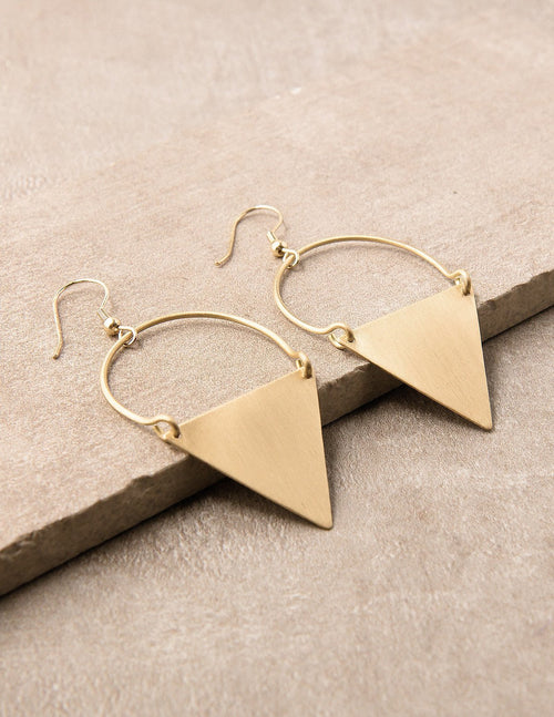 Shakti Fair Trade Earrings - Gold