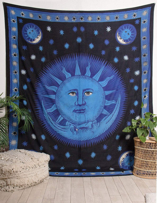 Solar Eclipse Tapestry
