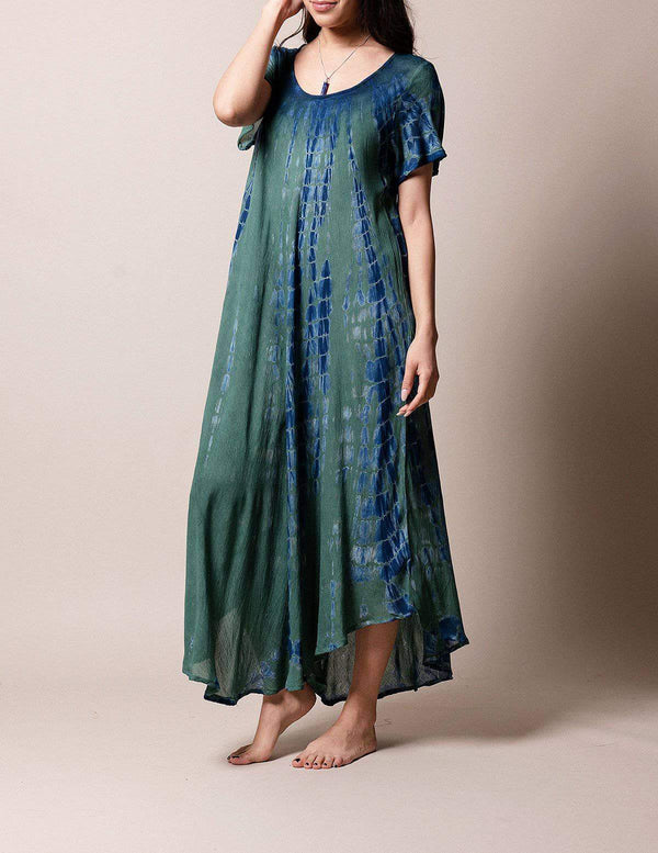 Tie-Dye Swing Dress - Marina