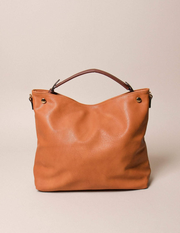 Vegan Leather Slouchy Tote