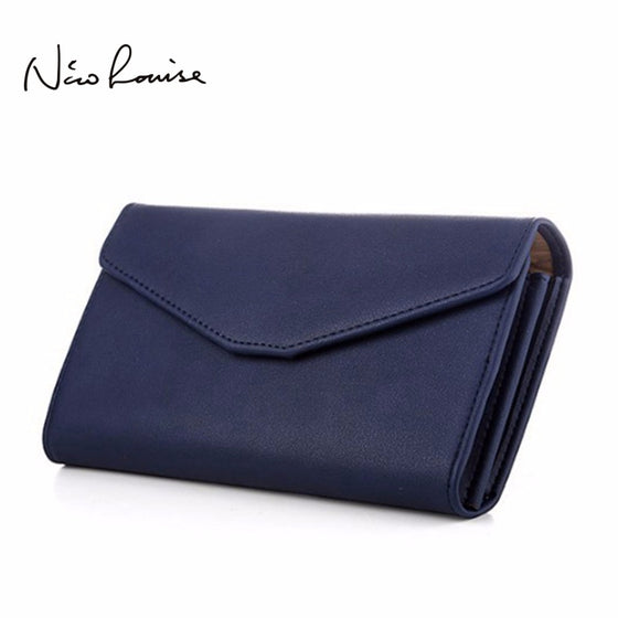 8609b5cfb6a Top Quality Leather Wristlet Women Wallet Female Brand Clutch Multifunction  Long Purse Holder Phone/Passport ...